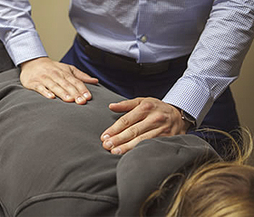 Chiropractic Treatment - Adjustment